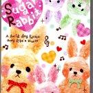 Q-Lia Japan Sugar Rabbit Memo Pad Kawaii