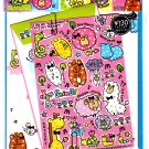 Q-Lia Japan Dot Animal Letter Set with Stickers Kawaii