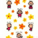 Sanrio Japan Minna No Tabo Sticker Sheet 1999 Kawaii