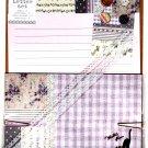Q-Lia Japan Petie Fleur Letter Set with Stickers (Cat) Kawaii