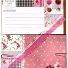 Q-Lia Japan Petie Fleur Letter Set with Stickers (Rabbit) Kawaii