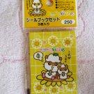 Sanrio Japan Coro Coro Kuririn Hamster Sticker Booklets Set of 3 in Sleeve 2000 Kawaii