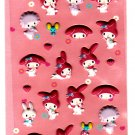 Sanrio Japan My Melody and Friends Puffy Sticker Sheet 2008 Kawaii