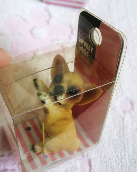 Lovely Dogs Chihuahua Polyresin Mini Figure (C) Kawaii