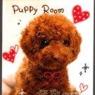 Kamio Japan Puppy Room Mini Memo Pad Kawaii