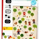 Mind Wave Japan In The Forest Letter Set with Stickers Kawaii