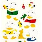 Sanrio Japan Ahiru No Pekkle Sticker Sheet 1995 Kawaii