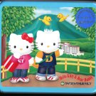 Sanrio Japan Hello Kitty and Dear Daniel Letter Set with Stickers in Collectible Tin 2003 Kawaii