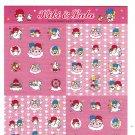 Sanrio Japan Little Twin Stars Sticker Sheet 2006 Kawaii