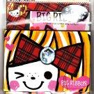 Q-Lia Japan Big Ribbon Letter Set Kawaii