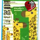 Crux Japan Giraffe's Melody Letter Set with Stickers Kawaii