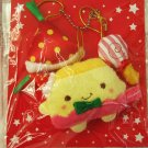 Passport Japan Hannari Tofu Plush Christmas Ornaments Set of 3 (B) Kawaii