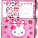 Crux Japan Sweet Minichan Letter Set with Stickers in Zip Bag Kawaii