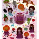 Kamio Japan Fairy Tale World Epoxy Sticker Sheet Kawaii