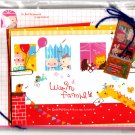 Q-Lia Japan Warm Family Letter Set with Stickers (B) Kawaii