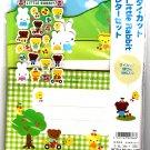 Wizard Japan Little Rabbit Letter Set with Stickers (B) Kawaii