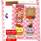 Daiso Japan Berry Cake Sisters Letter Set with Stickers Kawaii