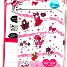 Mind Wave Japan Happiness Ticket Letter Set with Stickers Kawaii