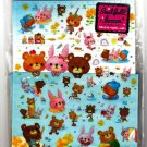 Kamio Japan Happy Picnic Letter Set with Full Sheet of Stickers Kawaii