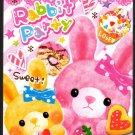 Kamio Japan Rabbit Party Mini Memo Pad Kawaii