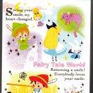 Kamio Japan Fairy Tale World Mini Memo Pad (C) Kawaii