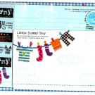 Mind Wave Japan Little Sunny Day Letter Set with Stickers Kawaii