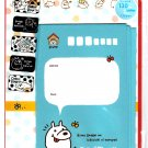 Mind Wave Japan Coro Biyori Letter Set with Stickers Kawaii