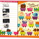 Mind Wave Japan Train Journey Letter Set with Stickers Kawaii