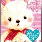 Crux Japan My Love Rabbit Memo Pad Kawaii