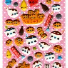Crux Japan Seal Takoyaki Puffy Sticker Sheet Kawaii