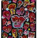 Kamio Japan Gorgeous Princess Epoxy Sticker Sheet Kawaii