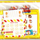 Point Japan Maruster World Letter Set with Stickers Kawaii