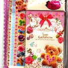 Kamio Japan Sweet Girl Collection Letter Set with Stickers Kawaii