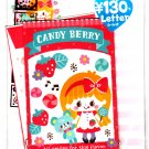 Kamio Japan Candy Berry Letter Set with Stickers Kawaii