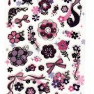 Mind Wave Japan Flowers and Ribbons Sticker Sheet Kawaii