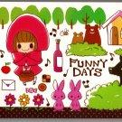 Crux Japan Funny Days Mini Memo Pad Kawaii