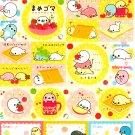 San-X Japan Mamegoma Sticker Sheet from Memo Pad (D) Kawaii