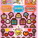Crux Japan Egg Friends Sticker Sheet from Memo Pad Kawaii