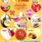 Crux Japan Love My Heart Sticker Sheet from Memo Pad Kawaii