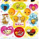 Crux Japan Natto Chan Sticker Sheet from Memo Pad (E) Kawaii