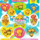 Crux Japan Natto Chan Sticker Sheet from Memo Pad (F) Kawaii