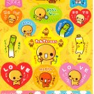 Crux Japan Natto Chan Sticker Sheet from Memo Pad (H) Kawaii