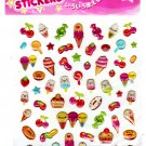 Daiso Japan Cute Sweets Epoxy Sticker Sheet Kawaii