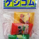 Iwako Japan Snacks Diecut Erasers Set of 3 Kawaii