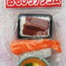 Iwako Japan Lunch Set Diecut Erasers Set of 3 (E) Kawaii