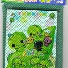 Kamio Japan Edamame Memo Sheets with Sticker in Net Rare Kawaii