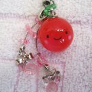 Japan Apple Cell Phone Strap New with Tag Kawaii