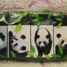 Lemon Japan Panda Mini Erasers Set of 6 Kawaii