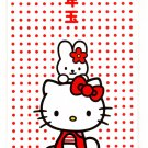 Sanrio Japan Hello Kitty Long Envelopes with Stickers 1998 Kawaii