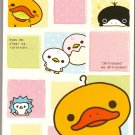 San-X Japan Kamonohashikamo Memo Pad with Stickers (A) 2008 Kawaii